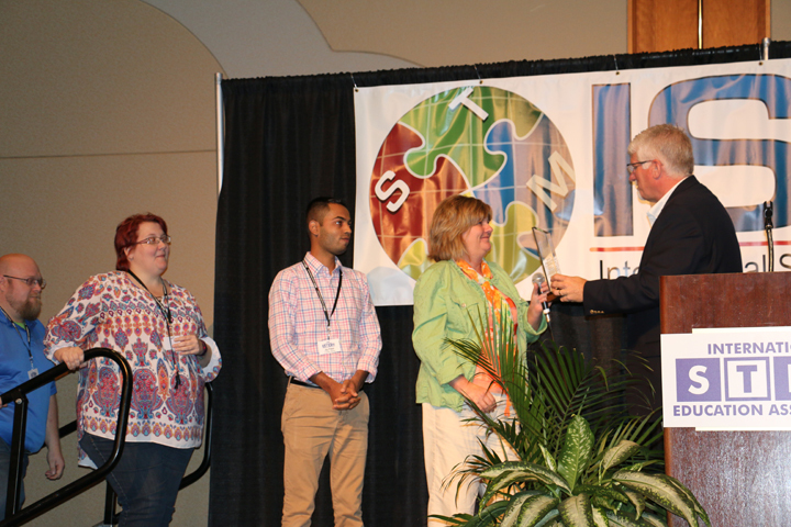 WMS Wins International STEM Award