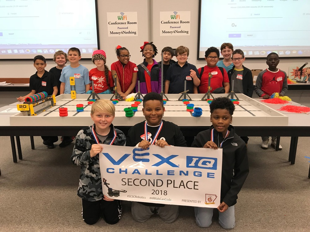 WMS Competes at VEX IQ Scrimmage
