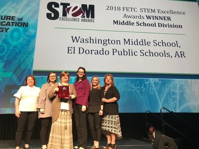 WMS STEM School of Excellence Winner