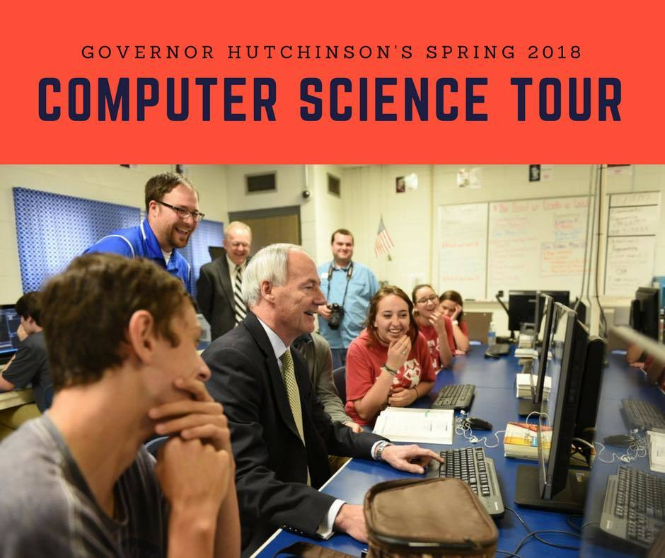 Governor Asa Hutchinson to Visit EHS