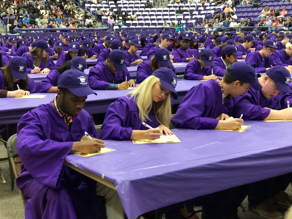 330 EHS Seniors Sign Academic Letters of Intent