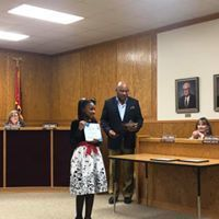 Zariah Miller Receives Student of the Month