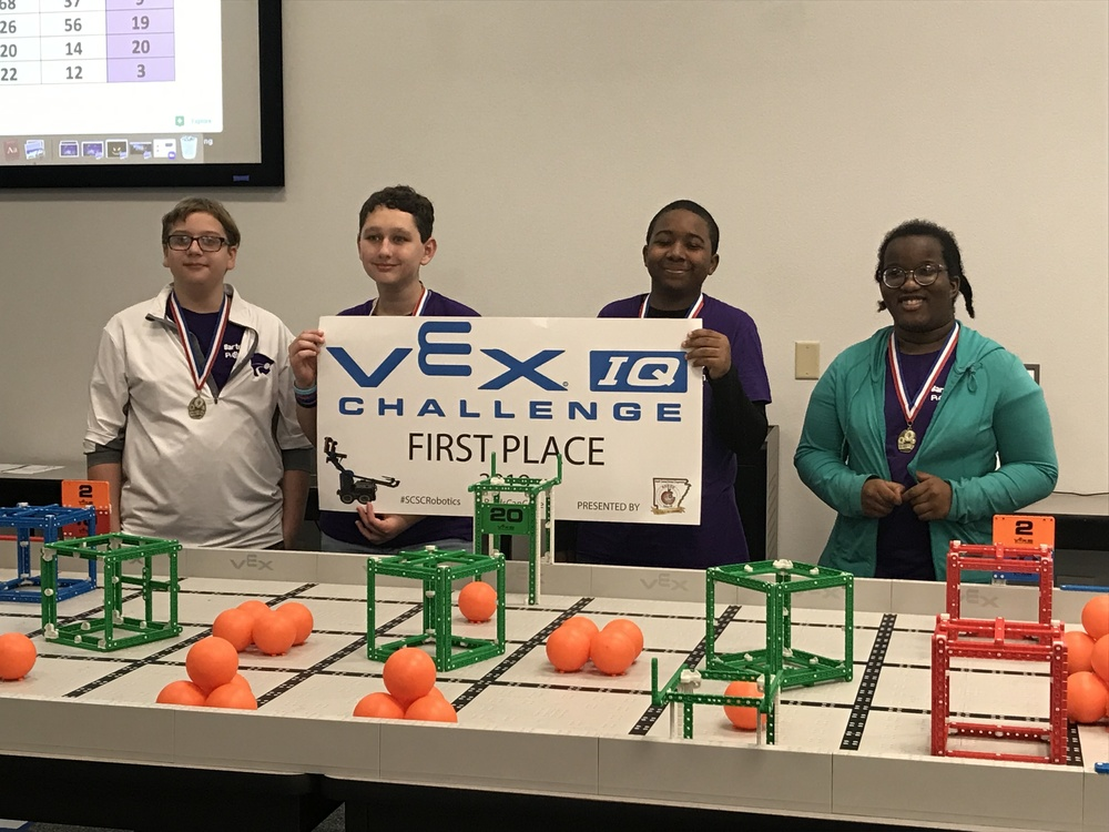 Barton's Robotics Teams Dominate