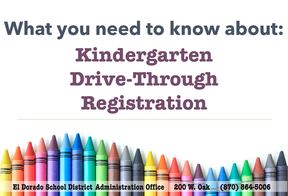 Kindergarten Drive-Through Registration Instructions