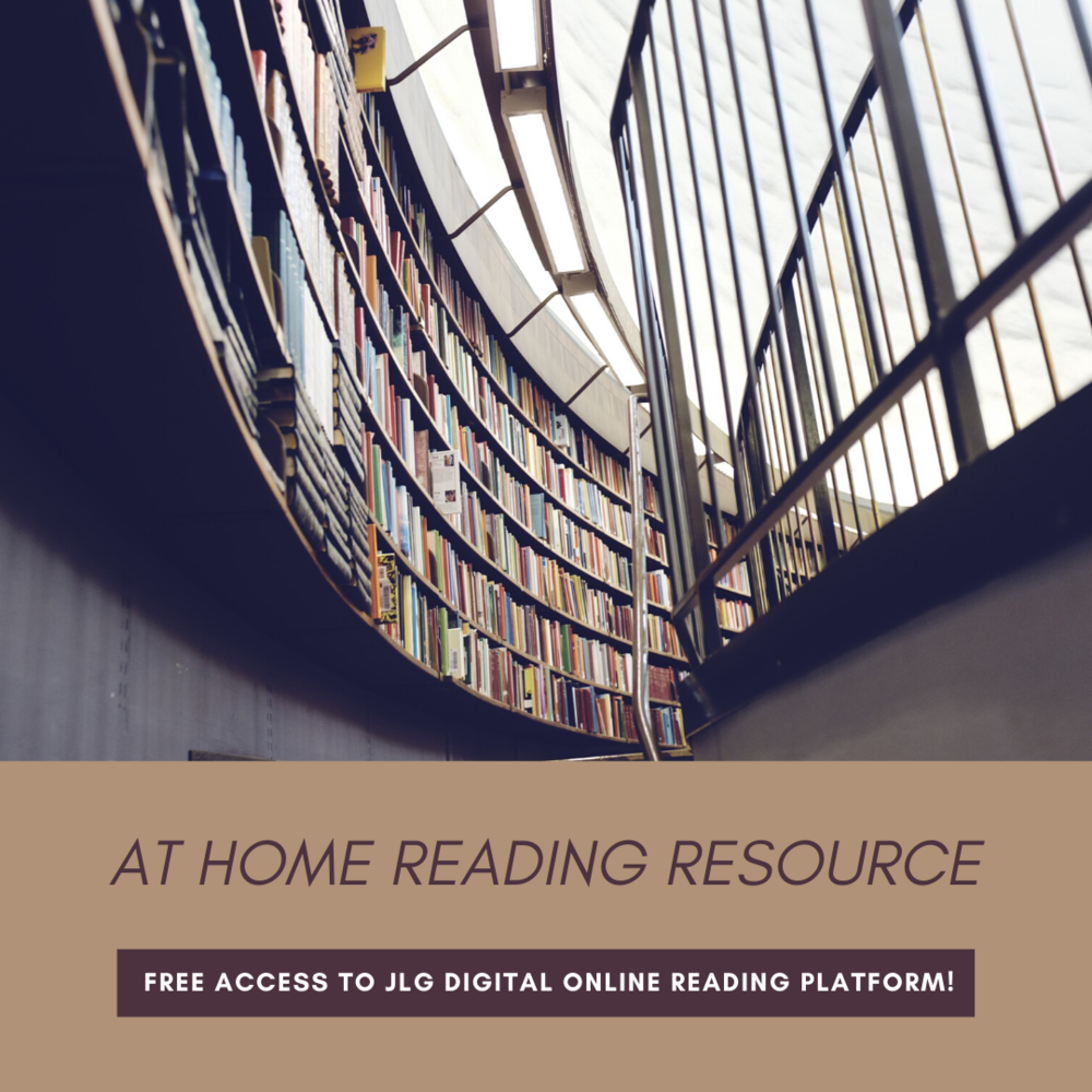 FREE at Home Reading Resource