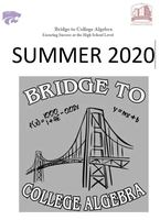 Bridge to College Algebra