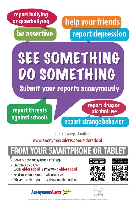 Poster for Anonymous Alerts
