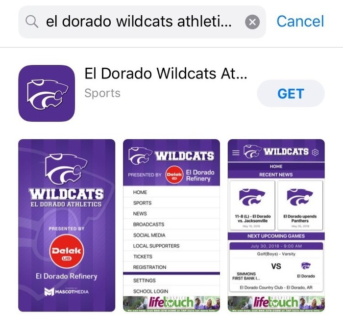 El Dorado Wildcat Athletics app image