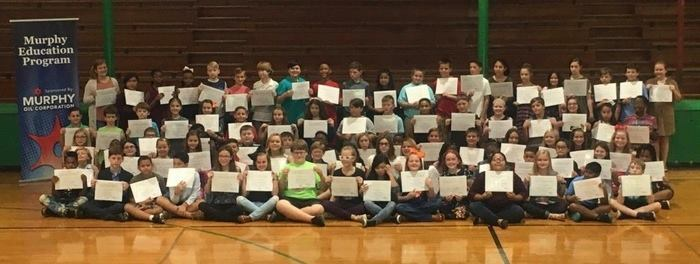 WMS students received Murphy Education Program Awards