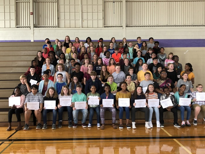BJHS students receive Murphy Education Program awards