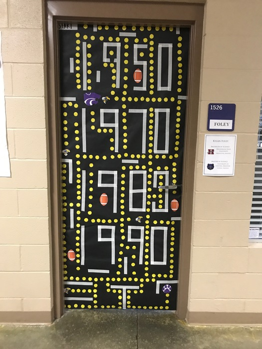 Mrs. Foley's door