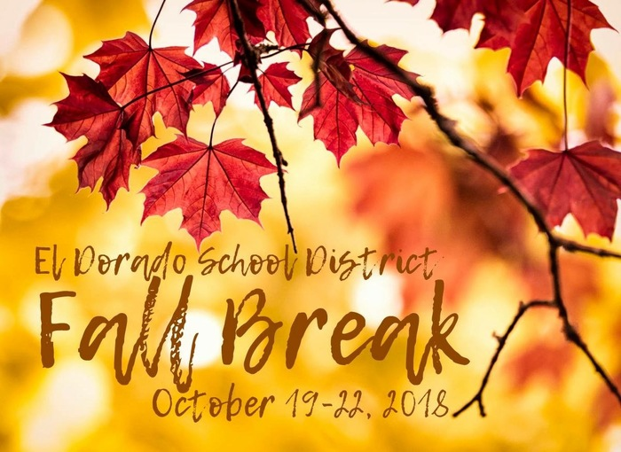 Fall break October 19-22
