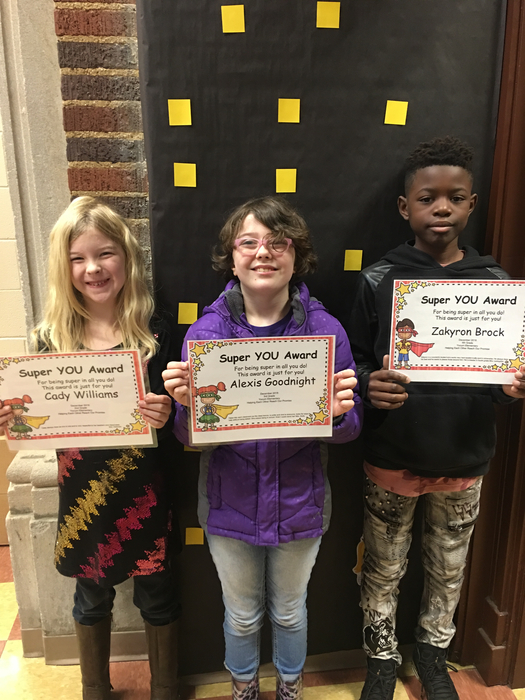 Student Heroes of the month