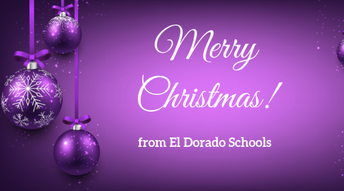 Merry Christmas from El Dorado Schools