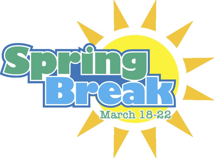 Spring Break March 18-22