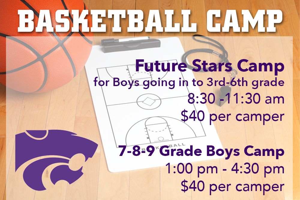 Basketball camps 3-6 grade and 7-9 grade