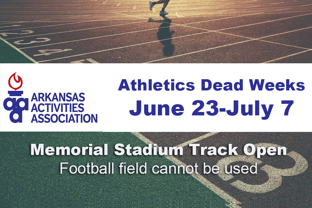 Athletics Dead Week June 23-July 7
