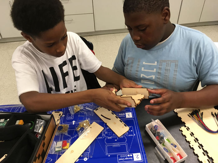 Students building their own computers!