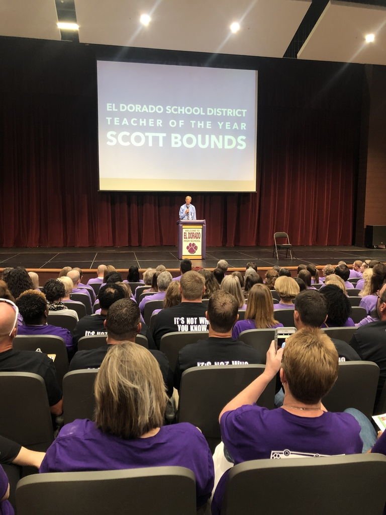 Scott Bounds, Teacher of the Year