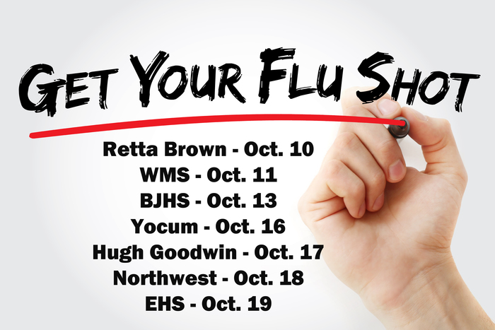 Flu Shot Clinic Dates