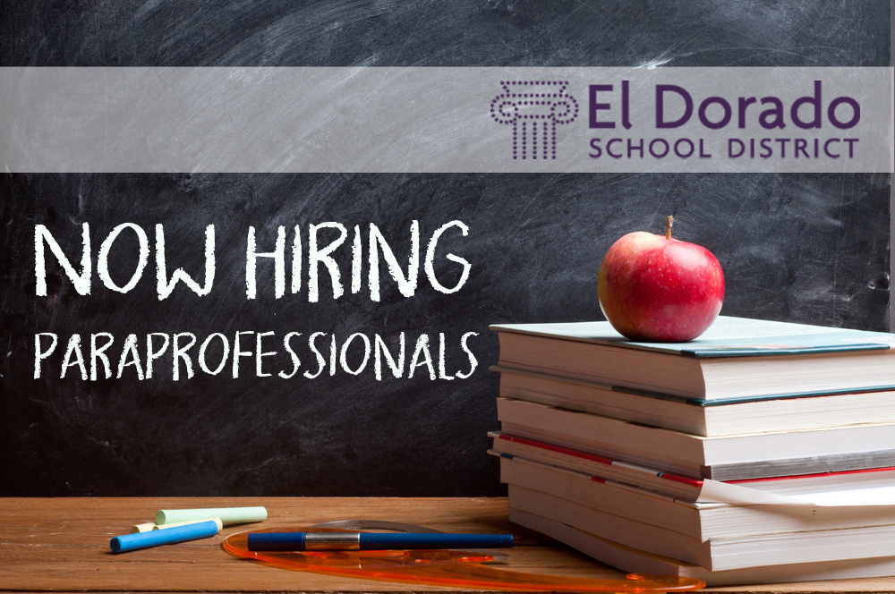 Now hiring: Paraprofessionals