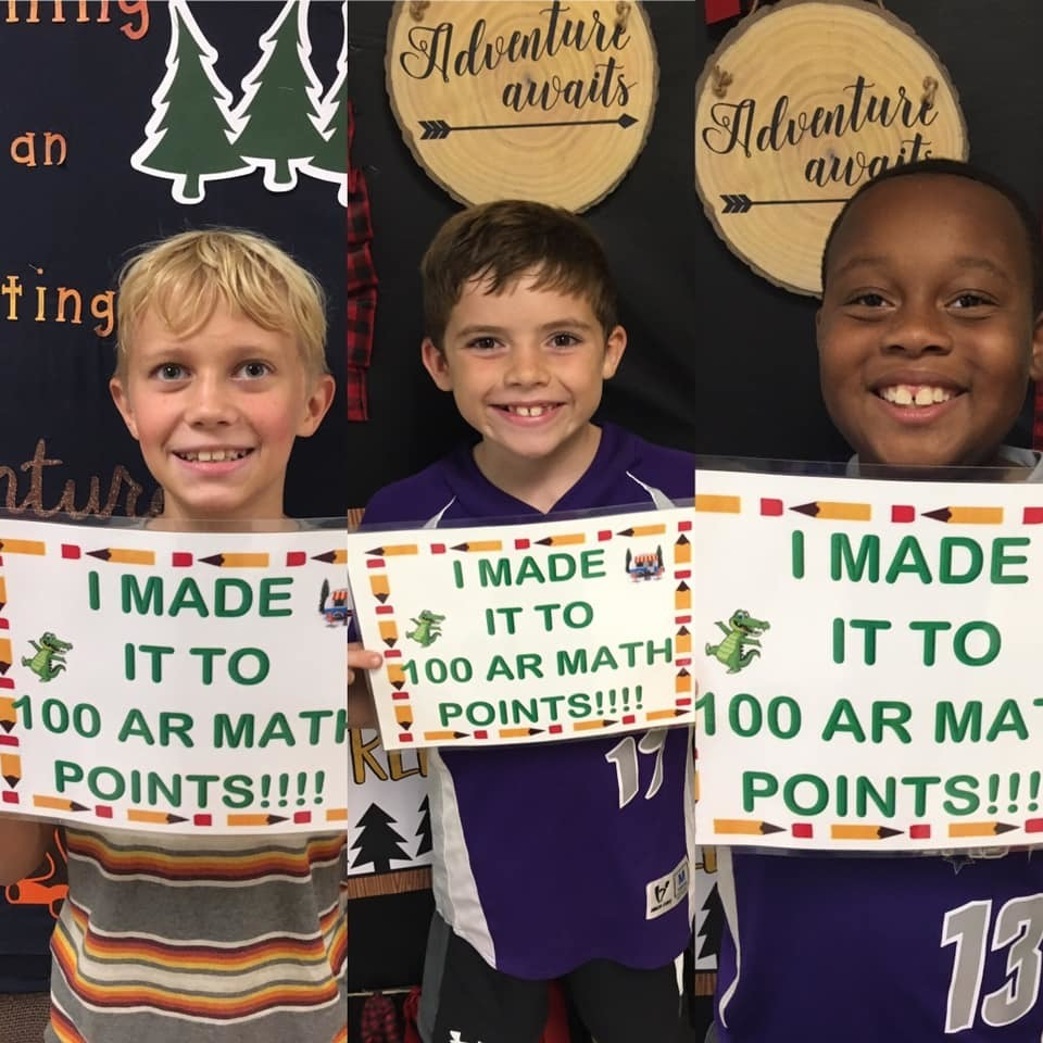 100 AR Math Points