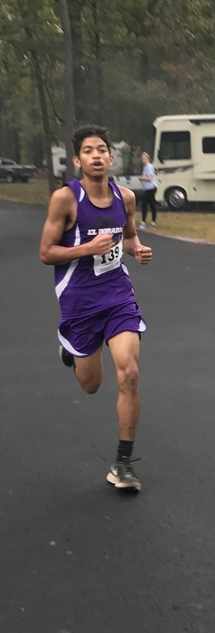 Alexander Jiminez placed 4th out of about 50 runners.