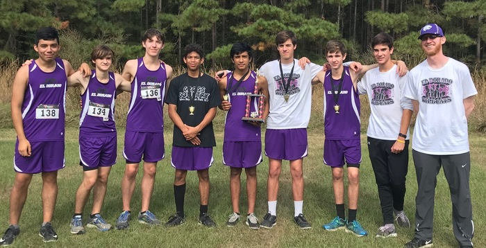 The Varsity Boys placed 1st place out of 6 full teams.