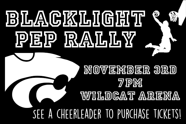 blacklight pep rally
