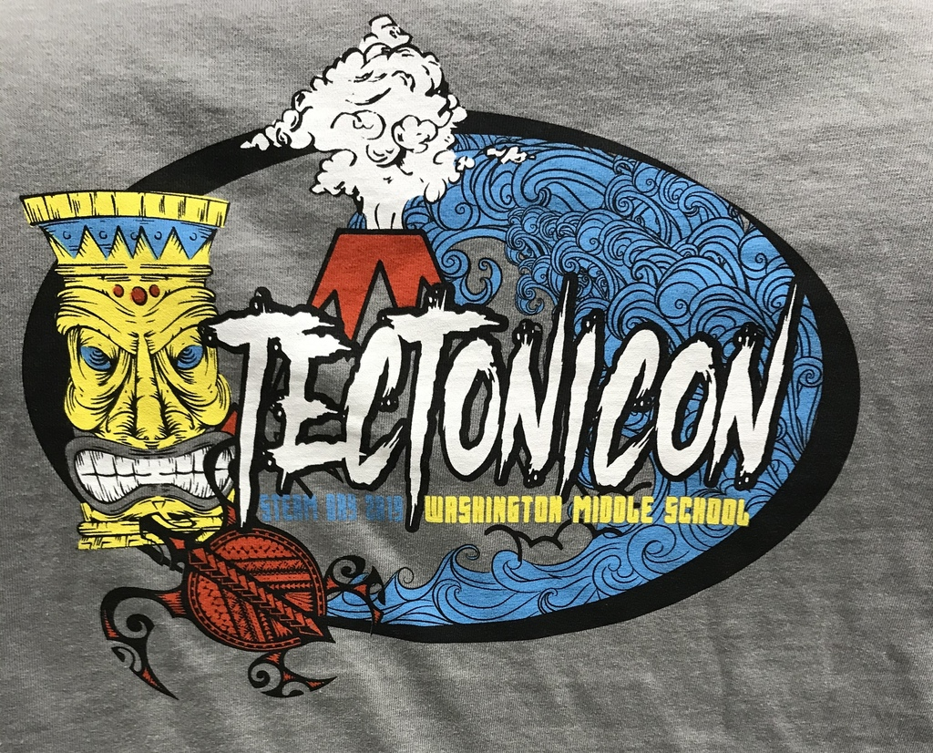 Tectonicon shirts went home today!
