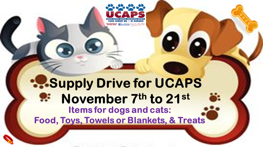 UCAPS Supply Drive