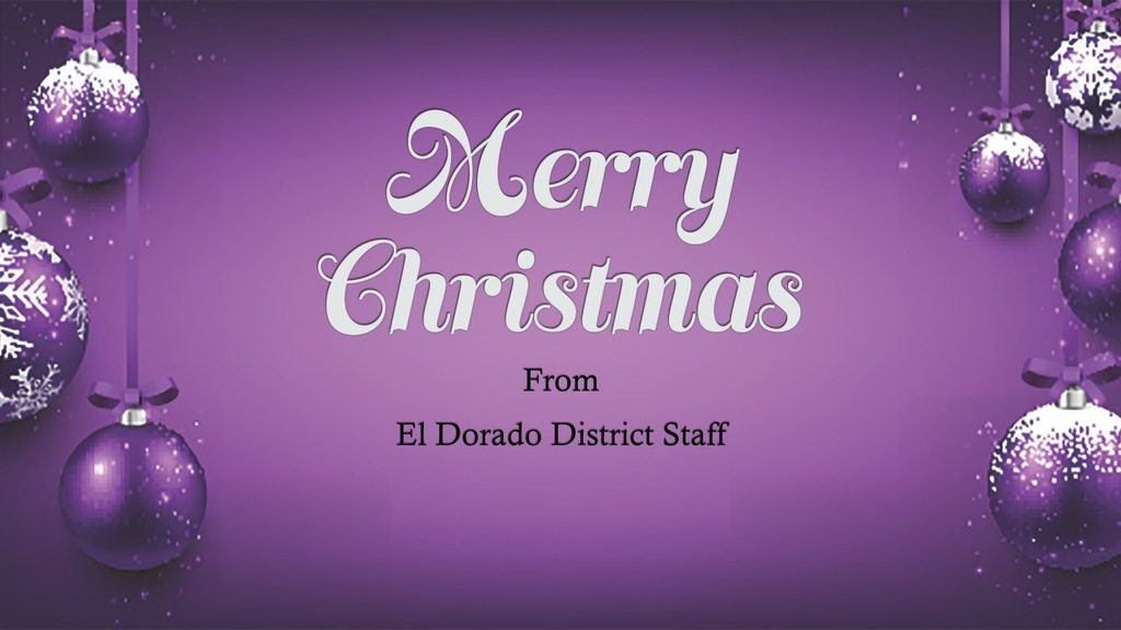 Merry Christmas from ESD
