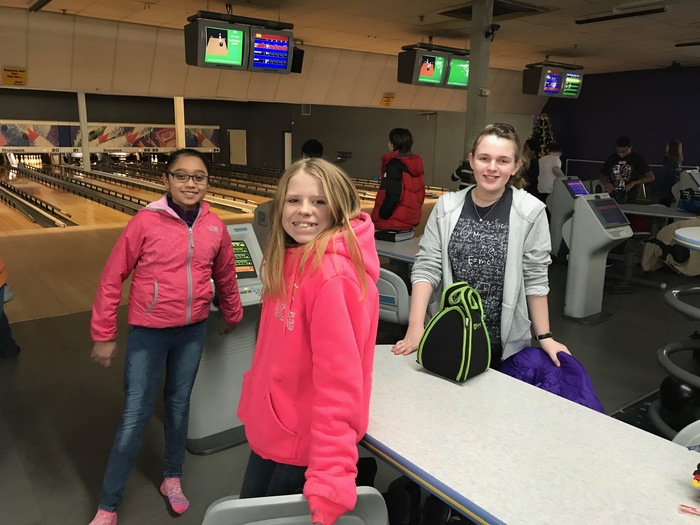 bowling alley field trip