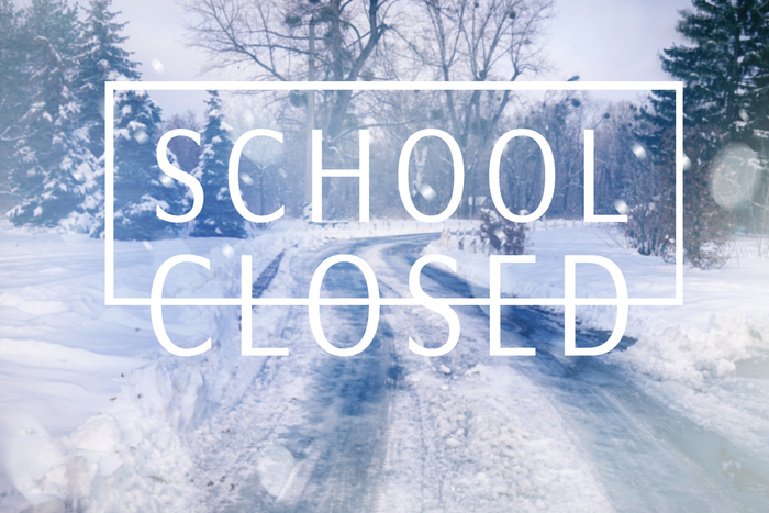 School Closed Wednesday, January 17