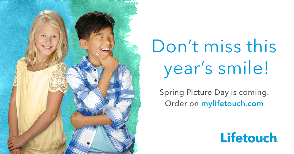 Spring Picture Day is March 11th