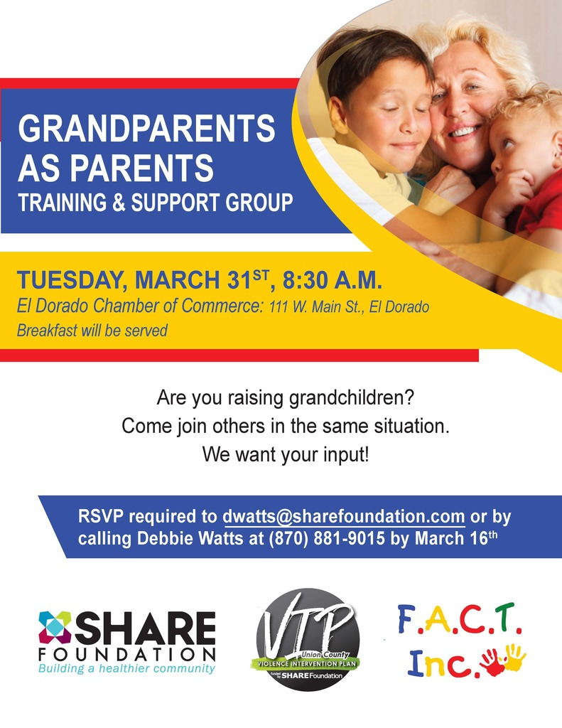 Grandparents as Parents support group