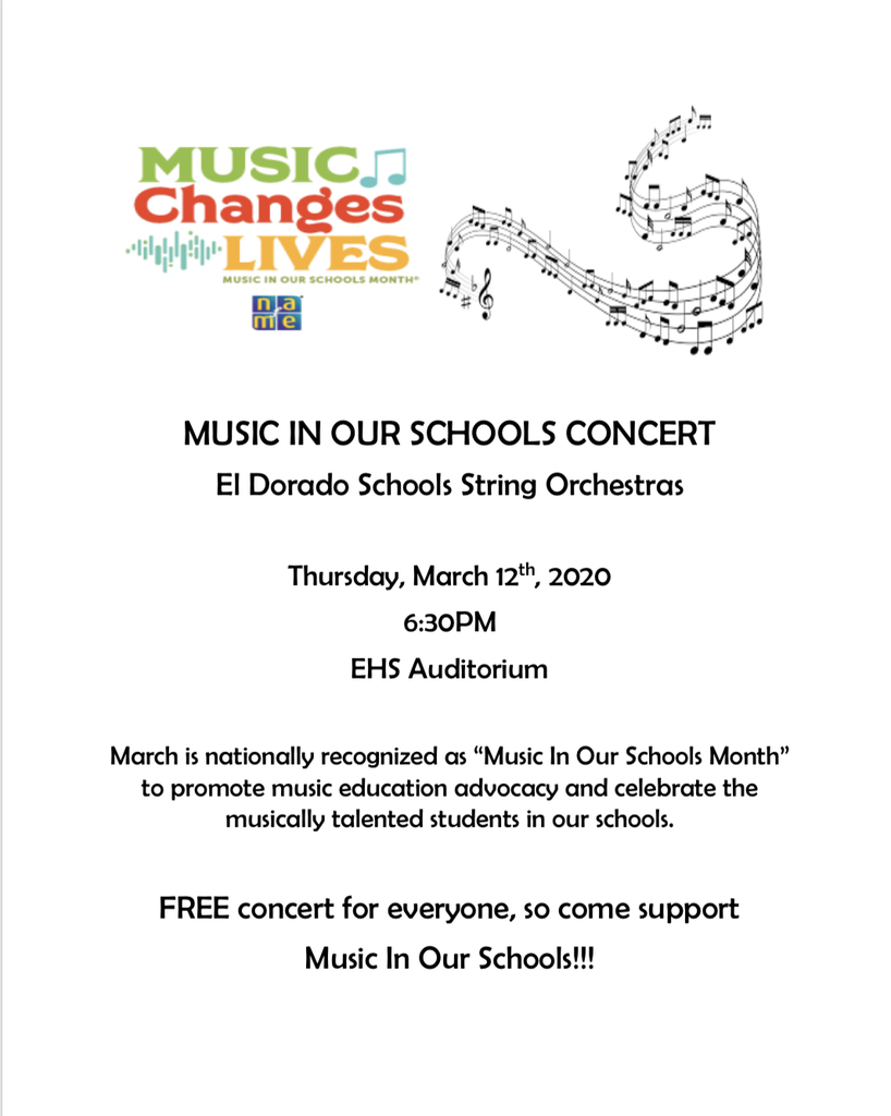 Music in our Schools Concert