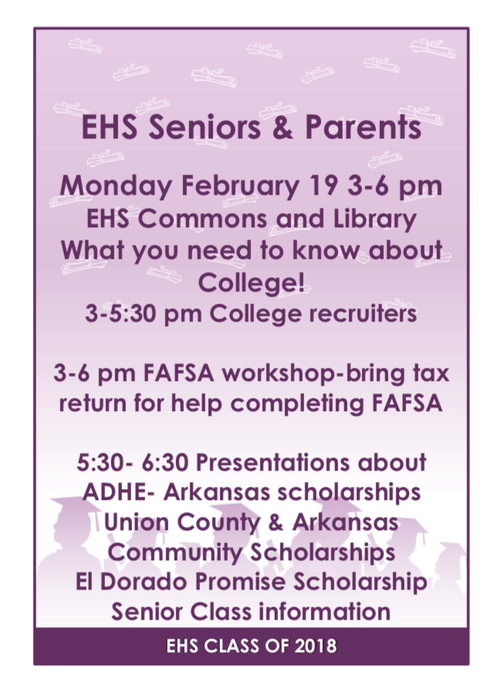senior info meeting