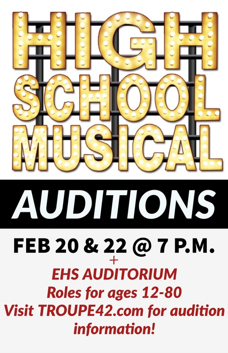 High School Musical Auditions