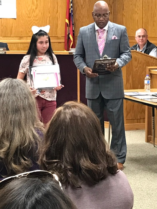 Student of the Month- Maria Ruiz